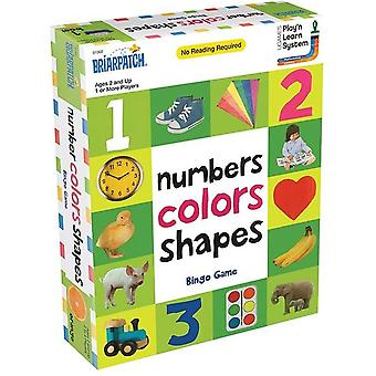 First 100 Numbers, Shapes Bingo Game