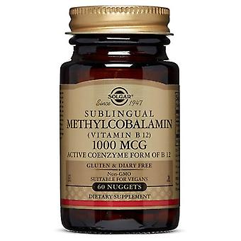 Solgar Methylcobalamin (فيتامين B12)، 1000 ميكروغرام، 60 ناغتس