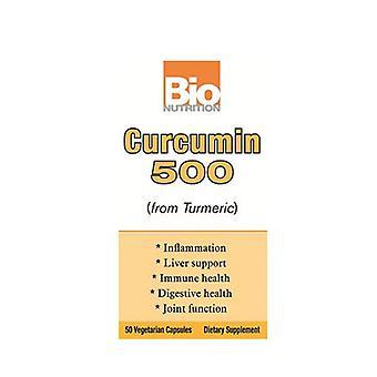 Bio Nutrition Inc Curcumin 500, 50 Veg Caps