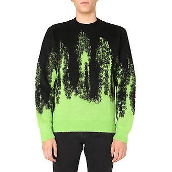 Msgm 2940mm14920753799a Mænd's Sort Akryl Sweater