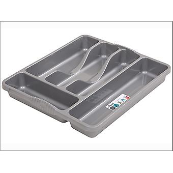 What More Casa Cutlery Tray Small Silver 16900