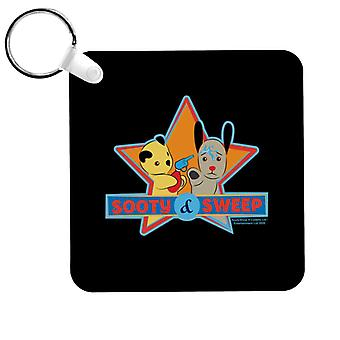 Sooty And Sweet Water Fight Keyring