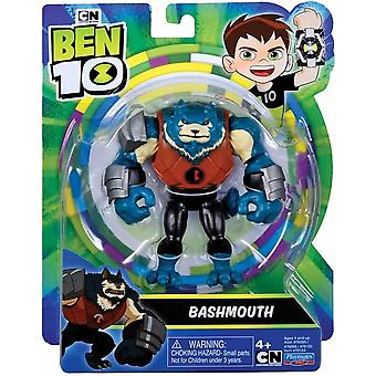 Ben 10 action figure - evil alien bashmouth for ages 4+