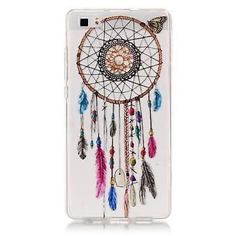 For Huawei  P8 Lite Colour Bell Pattern IMD Workmanship Soft TPU Protective Case