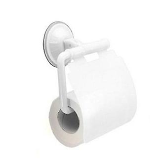 Wall Mounted Suction Cup Toilet Waterproof Tissue Holder Roll Papers Stand