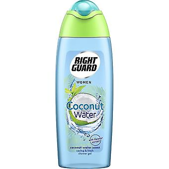 Right Guard 6 X Right Guard Shower Gel - Coconut Water