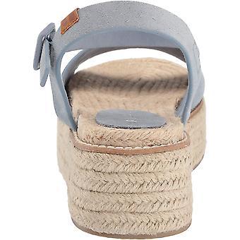 Coolway Women's Ramen Slide Sandal, Blu, 37 M US
