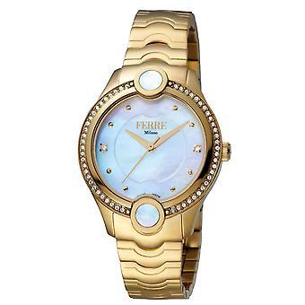 Ferre Milano FM1L082M0021 Women's Silver Dial Stainle Steel  Watch