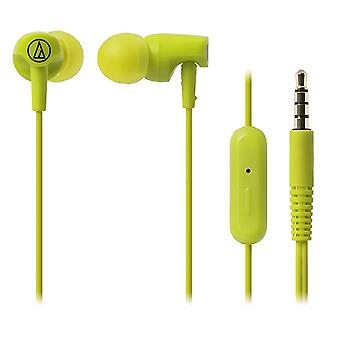Audio-Technica - In-ear Headset Sonic Fuel ATH-CLR100i - grønn
