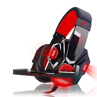 Led Light  Pc780 Gaming Stereo Sound Headsets With Mic For Computer And Pc
