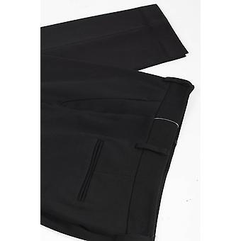 Bask Atelier No Yoke Seamed Pocket Twill Capri Broek