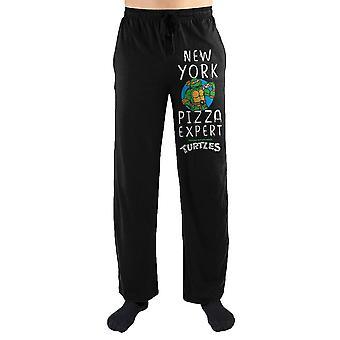 Teenage mutant ninja turtles tmnt michelangelo new york pizza expert print men's loungewear lounge pants