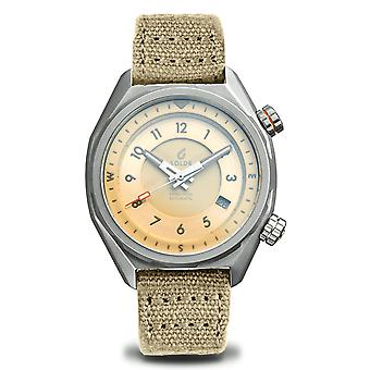 BOLDR EXPEDITION DUNE 7 Automatic Beige Dial Wristwatch