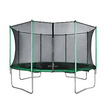 YANGFAN Trampoline Domestic Indoor and Outdoor Sports with Safety Enclosure Net