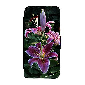 Custodia per portafogli Lilies Flowers iPhone 12 / iPhone 12 Pro
