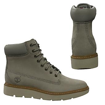Timberland Kenniston 6 Inch Womens Grey Nubuck Lace Up Boots A1GY6 Z39B