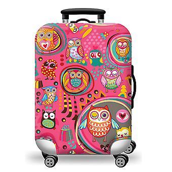 Hibou protecteur de bagages imprimé