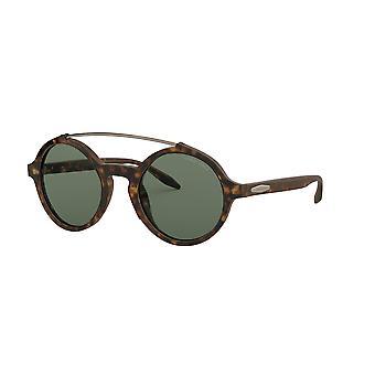 Giorgio Armani AR8114 502671 Havana/Zielone okulary przeciwsłoneczne
