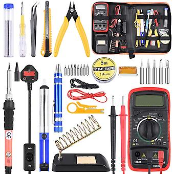 Soldering Iron Kit with Digital Multimeter, ETEPON Upgraded Soldering Iron Kit Soldering Tools