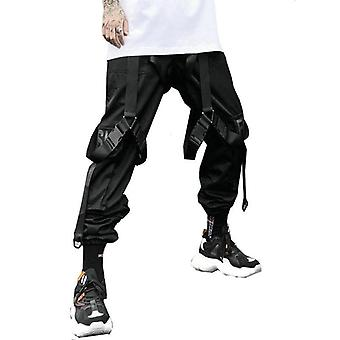 Leisure Hip-hop Men's Pants, Streetwear Cotton Jogging Pants, Spring Long Pant