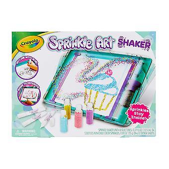 Crayola 747298 sprinkle art shaker craft toy, multi standard