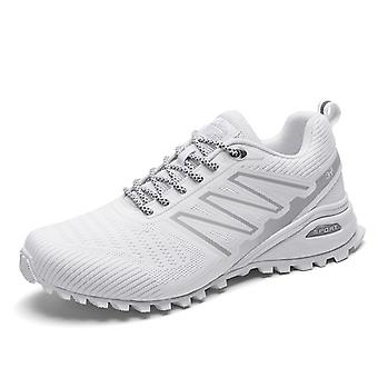 Hombres Mujeres Trail Running Zapatos K698 Blanco