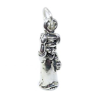 Young Graduate Sterling Silver Charm .925 X 1 Graduation Charms - 8577