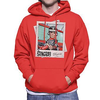 Stingray George Phones Sheridan Driving Submarine Men's Hooded Sweatshirt