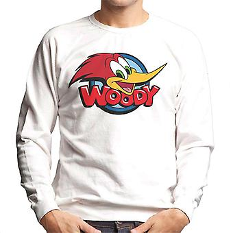 Woody Woodpecker Cabeza de personaje Woody Logo Hombres's Sudadera