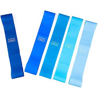 Træningsband til hjemmetræning 5-pack Blue