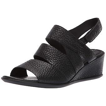 ECCO Women's Shoes Shape 35 Wedge Peep Toe Casual Slingback Sandalias
