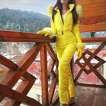 Frauen Mode Casual Dick Winter Warm Snowboard Jumpsuit