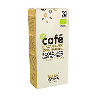 Decaffeinated Ground Coffee Bio Fair Trade 250 g