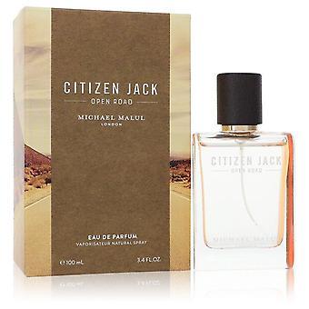 Citizen Jack Open Road Eau De Parfum Spray By Michael Malul 3.4 oz Eau De Parfum Spray