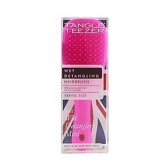 Tangle Teezer The Wet Detangling Mini Hair Brush - # Pink Sherbert (Travel Size) 1pc