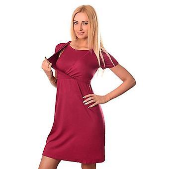 Sleeve Nursing Dress, Women Pregnant Maternity Clothes, Baby Breastfeeding
