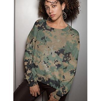 Army desert camo sublimation sweatshirt