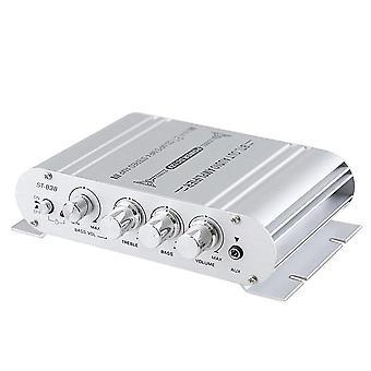 Mini digital hi-fi strömförstärkare 2.1ch subwoofer stereo ljudspelare bil motorcykel hem