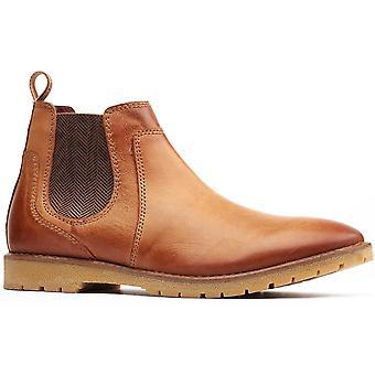 Base London miesten zimmer chelsea boot tan 32256
