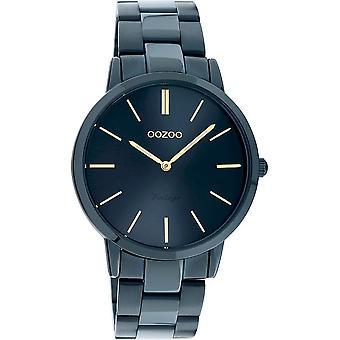 OOZOO Wristwatch Vintage Unisex Dark Blue C20105