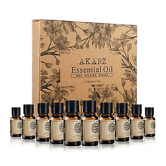 10 Piece set of only the best selling essential oils in the world right now