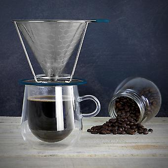 M&W Reusable Stainless Steel Coffee Filter
