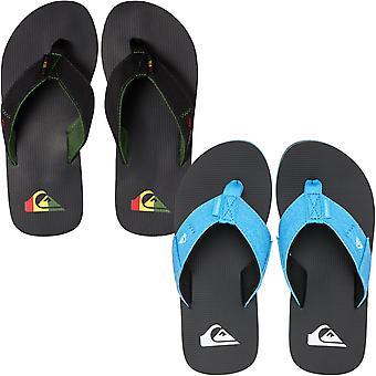 Quiksilver Boys Kids Molokai Abyss Summer Beach Thongs Sandals Flip Flops
