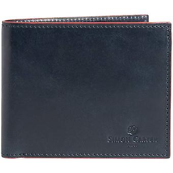 Simon Carter Red Edge Jeans Wallet - Navy