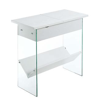 Soho Flip Top End Table With Charging Station - R4-0366