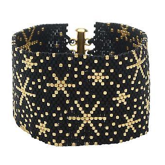 Peyote Armbånd - Fyrværkeri - Eksklusiv Beadaholique smykker Kit