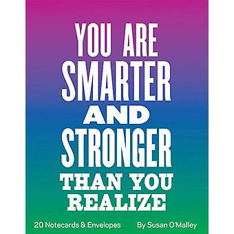 Você é mais inteligente e mais forte do que percebe conselhos de notas do meu eu 80yearold por Susan OMalley
