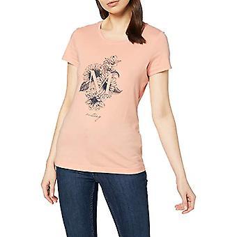 MUSTANG Alexia C Print T-Shirt, Pink (Rose Cloud 8415), Medium Woman