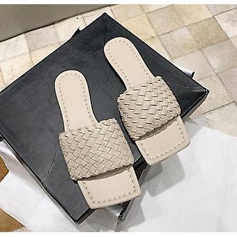 Teen platte slippers, casual strandschoenen