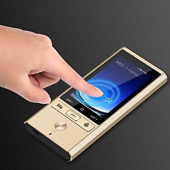 Real Time Two-way Portable Translation Smart Offline Voice Translator Wifi+4g